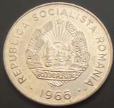 Moneda 25 BANI - RS ROMANIA, anul 1966   *cod 354