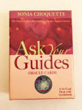 Carti oracol de ghicit Ask your Guides - Sonia Choquette, ezoterice