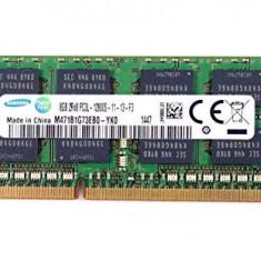 Memorie  SAMSUNG sodimm 8Gb DDR3 PC3L-12800S 1600Mhz 1.35V - m471b1g73eb0-yk0
