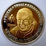 5.360 VATICAN PAPA BENEDICT XVI MODEL 10 EURO SPECIMEN PRUEBA TRIAL ESSAI PROBE
