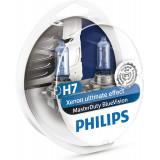 Bec Philips H7 24V 70W Masterduty Bluevision Set 2 Buc 13972MDBVS2