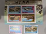 Malawi - Timbre trenuri, locomotive, cai ferate, nestampilate MNH, Nestampilat