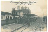5209 - BUZAU, Railway Station, Locomotive ( 17/12 cm ) - old real Press PHOTO