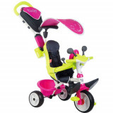 Tricicleta Baby Driver Comfort Pink, Smoby