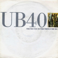 UB40 - The Way You Do The Things You Do (1990, Virgin) Disc vinil single 7""
