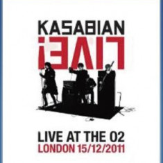 KASABIAN Velociraptor Live At The O2 ARENA (bluray)