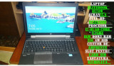 Laptop 15.6-Full HD-EliteBook workstation 8570w I7-Quad-2.7Ghz-8GB RAM, Intel Core i7, 256 GB