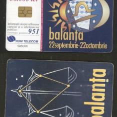 Romania 2000 Telephone card Libra Sign Rom 82b CT.040