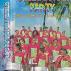 Caseta Lambeth Community Youth Steel Band ‎– Steel Drum Party, originala