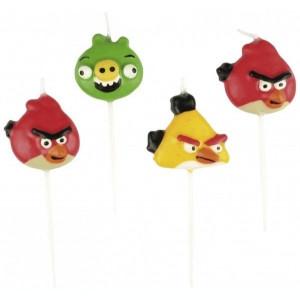 Lumanari Angry Birds set 4 buc