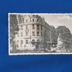 CARTE POSTALA * SIBIU , HOTEL BOULEVARD , FOTO E. FISCHER , 1943, Necirculata, Fotografie