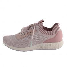 Adidasi dama, din textil, marca Tamaris, 1-23714-24-C5-O-10, roze