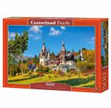 Puzzle Castelul Peles, 500 piese, castorland