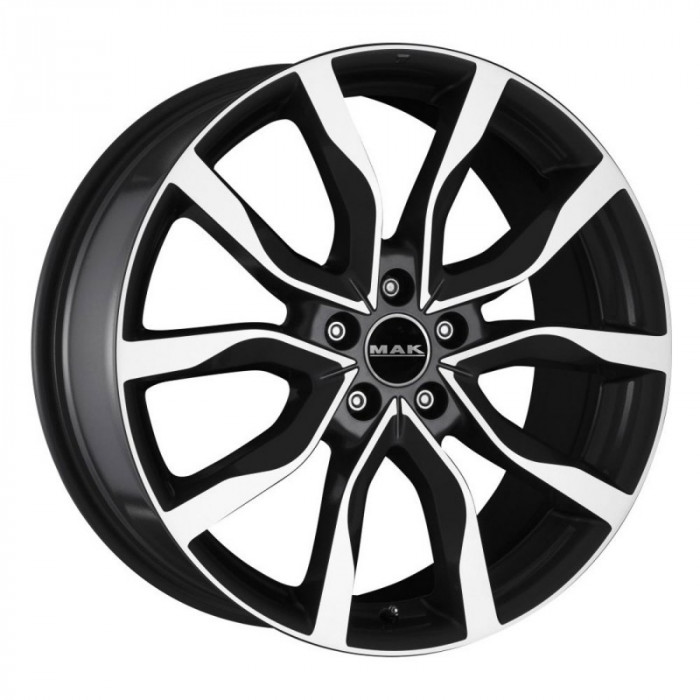 Jante LAND ROVER DISCOVERY V 9.5J x 21 Inch 5X120 et49 - Mak Highlands Black Mirror - pret / buc