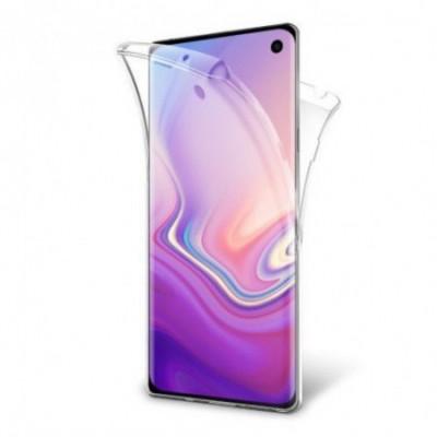 Husa Invizible 360 de grade (fata-spate ) pentru Samsung Galaxy S10 ,Silicon foto