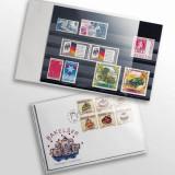 Posete transparente pentru carti postale de max. 145 x 95 mm