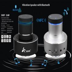 Boxa portabila Adin Vibro-Speaker cu Super Bass,26W, Bluetooth, Hands Free -Gri