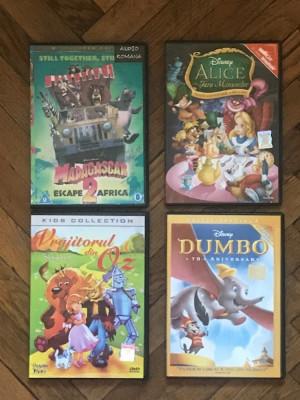 DVD-uri desene animate foto