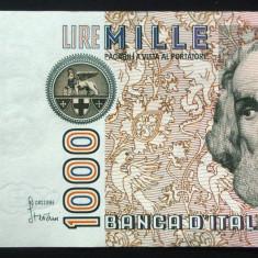 Bancnota 1000 LIRE - ITALIA, anul 1982    *cod 868 A - A.UNC*