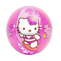Minge de plaja gonflabila copii Hello Kitty 51cm Intex 58026NP