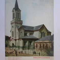 Rara! Carte postala circulata 1904 Becicherecu Mare/Nagybecskerek(Banat Serbia)