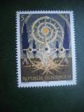 HOPCT TIMBRE MNH 649 ARTA MODERNA 1989  -1 VAL AUSTRIA