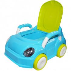 Olita pentru copii sub forma de masinuta, Verde/Albastru