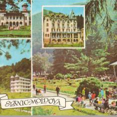 CPIB 15265 - CARTE POSTALA - SLANIC MOLDOVA, MOZAIC