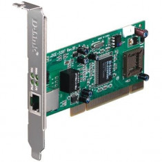 Placa de retea d-link pci 32bit gigabit low profile bracket inclus