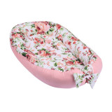 Cumpara ieftin Baby Nest multifunctional din bumbac Pink Flowers