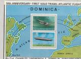 Transporturi ,avion ,zepelin ,harta ,Dominica.