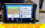 "GPS Auto Navigatie ecran 5"" AUTO, AUTOCAR,GPS TIR CAMION, HARTI FULL EUROPA 2020, Toata Europa, Lifetime"