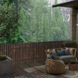 Panou gard de grădină, maro închis, 170 x 75 cm, bambus
