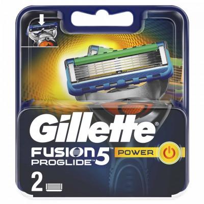 Set 2 rezerve pentru aparat de ras Gillette Fusion Proglide Power, 5 lame foto