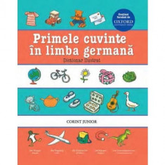 Primele cuvinte in limba germana. Dictionar ilustrat Oxford PlayLearn Toys