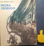 Proba zborului Ion Cringuleanu Ilustrator: Marcel Chirnoaga