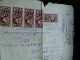 Extract, stampila Comuna Iași, stampila Religia Evanghelica a Adventistilor, Romania 1900 - 1950, Documente