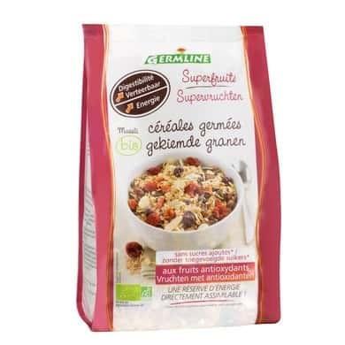 Musli din cereale germinate cu superfructe bio 350g foto