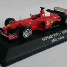 Macheta Ferrari F399 Eddie Irvine F1 1999 - Atlas 1/43 (Formula 1)