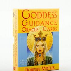 Goddess Guidance Oracle carti tarot+cadou cartea in limba romana