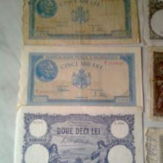 vind bancnote vechi romanesti