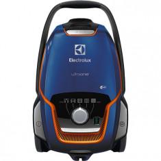 Aspirator cu sac UltraOne EUO93DB, 850 W, 5 l, perie FlowMotion Silent, albastru