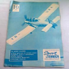 REVISTA SPORT SI TEHNICA NR.10/1968