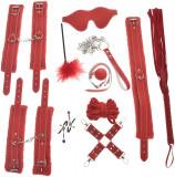 Set BDSM Terrorize Me Rosu JGF Toys