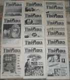 ziar Tinerama,red Max Banus,anul II,14 numere ,1991,ziare dupa Revolutie anii 90