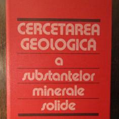 CERCETAREA GEOLOGICA A SUBSTANTELOR MINERALE SOLIDE-O.CLICHICI, S.STOICI