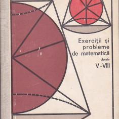 GRIGORE GHEBA - EXERCITII SI PROBLEME DE MATEMATICA CLASELE V - VIII