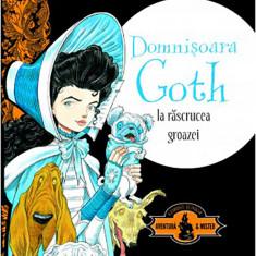 Domnisoara Goth la rascrucea groazei | Chris Riddell