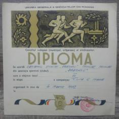 Diploma 1972, capitanului echipei Abatorul, Cupa 6 martie