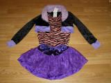 Costum carnaval serbare vrajitoare monster high pentru copii de 9-10 ani, Din imagine